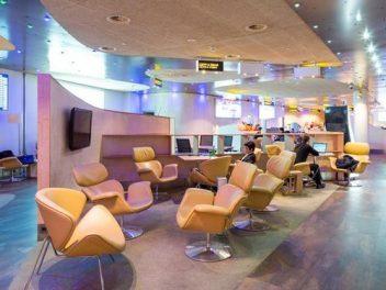 Blues Business Lounge